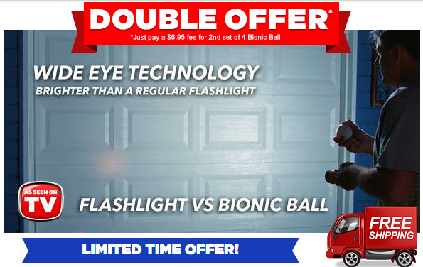 Bionic Ball Light vs Flashlight