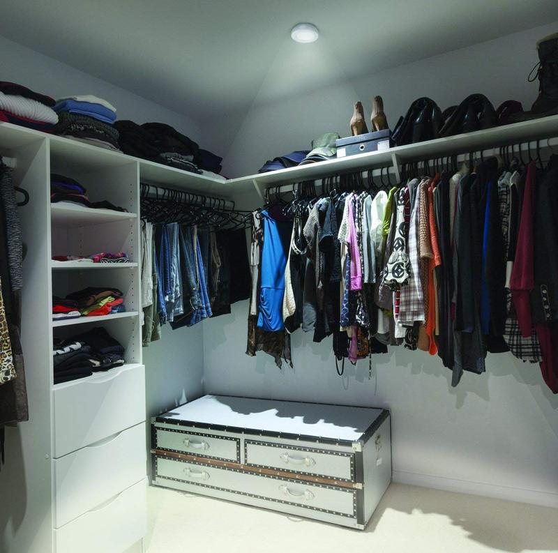Wherever Lite LED Light in Closet