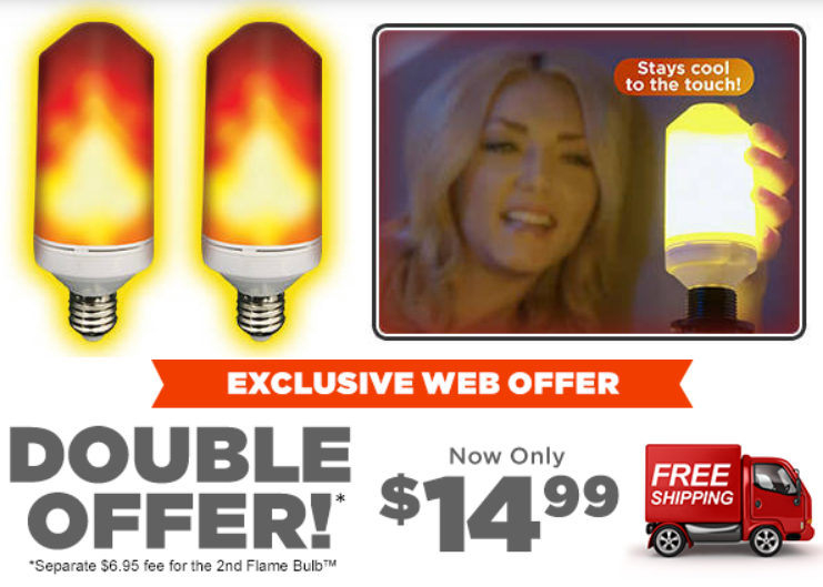 Flame Bulb REVIEW | LED Flame Bulb As Seen On TV