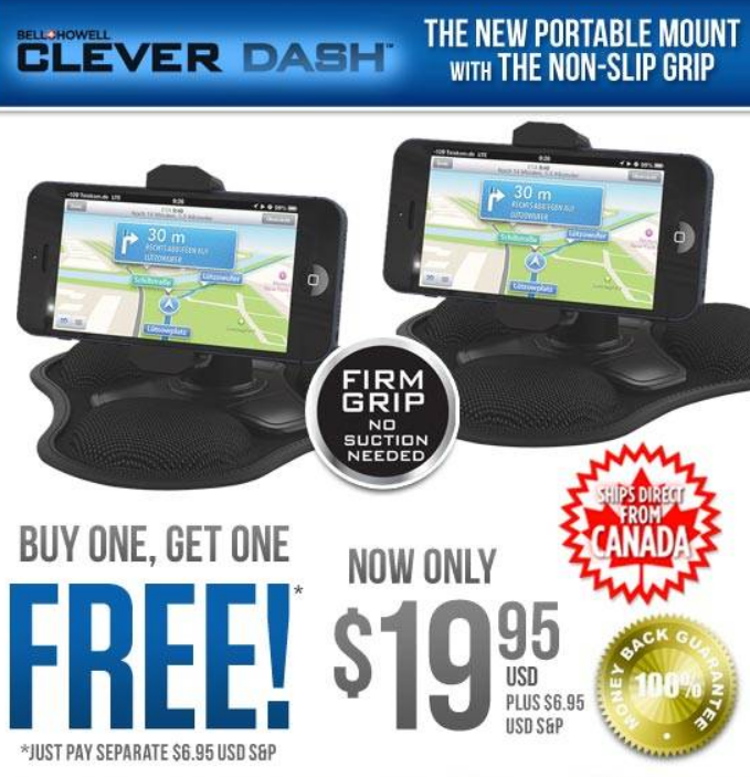 Bell + Howell Clever Dash Review