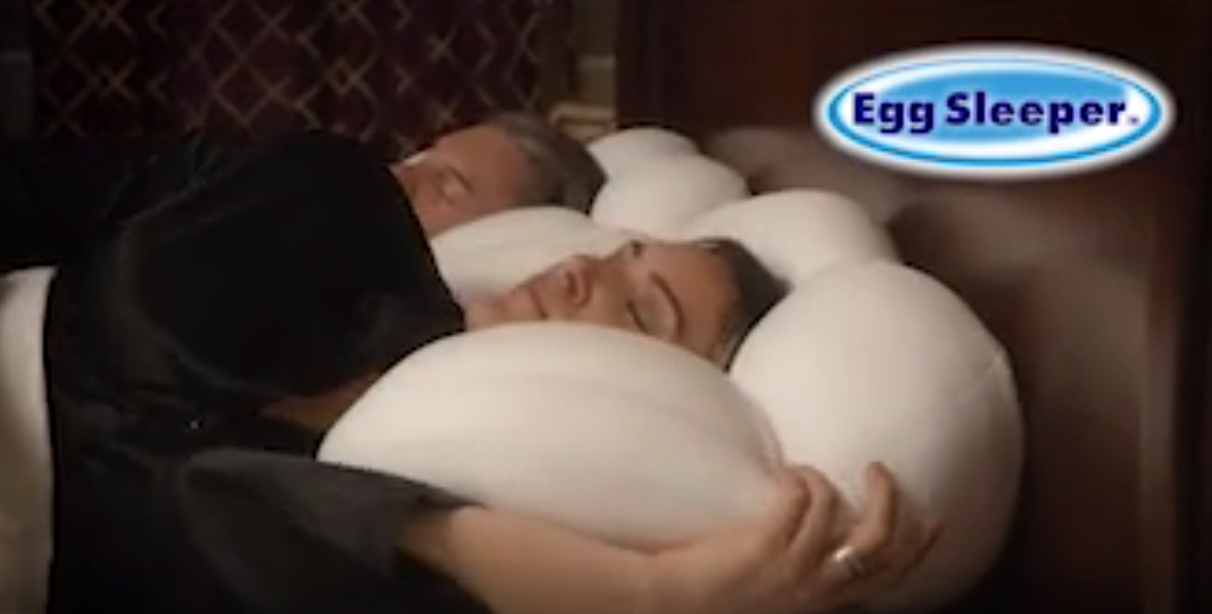 Egg Sleeper claims to be comfortable