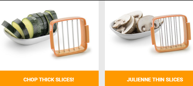 NutriChopper Thick-Slices Blade and Julienne Slices Blade