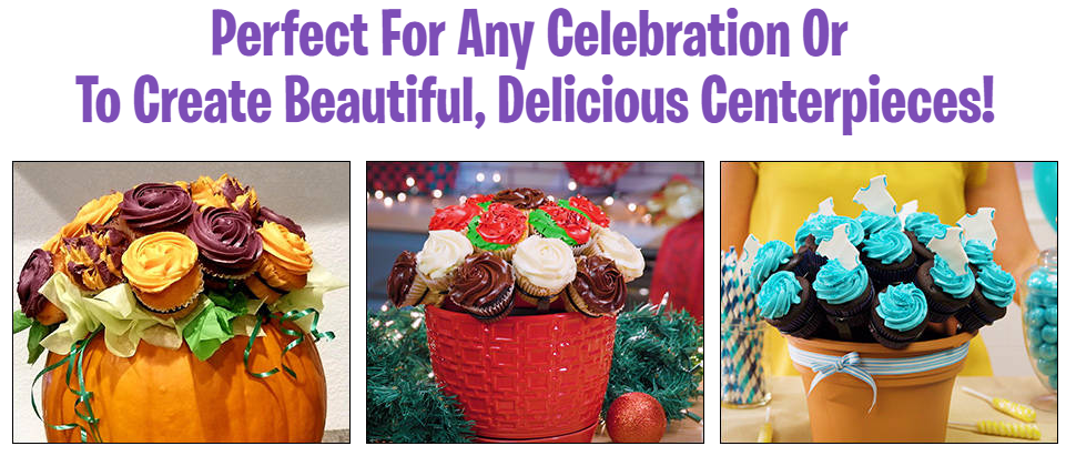 More Tasty Bouquet Decorating Options