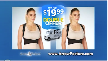 Arrow Posture Buy 1 Get 1 Free Offer