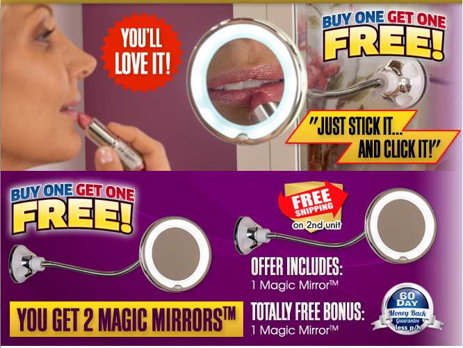 Magic Mirror Review As Seen On Tv Lighted Magnification