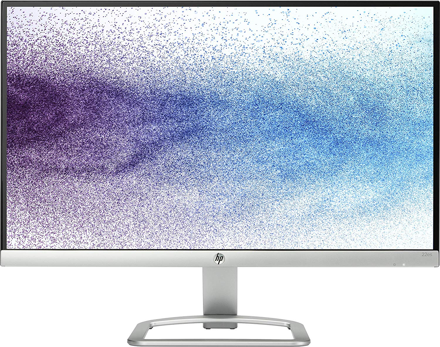 HP 21.5 inch Edge to Edge LED Backlit Computer Monitor 22ES