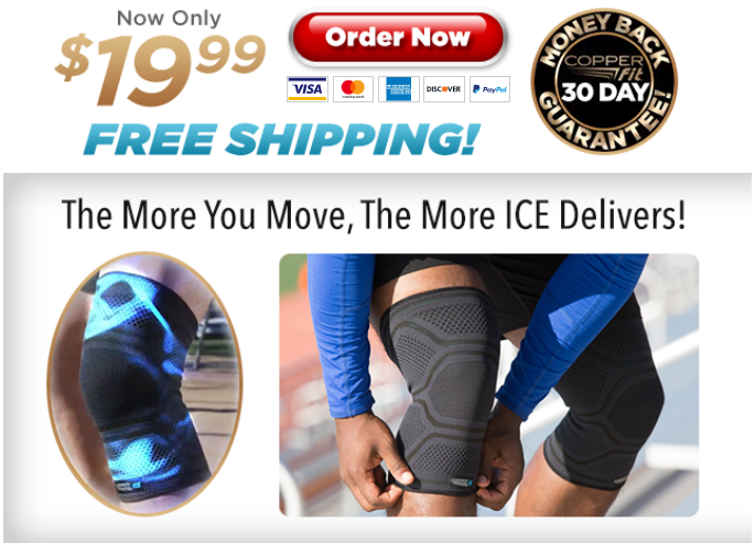 Copper Fit ICE TV Offer