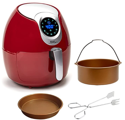 RED Power XL Air Fryer 5.3 and 3.4 Quart [DELUXE]