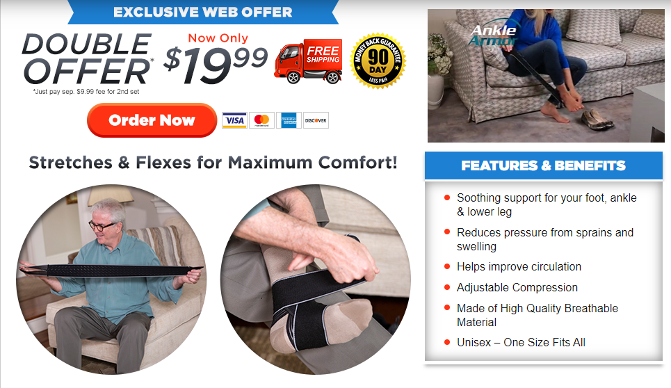Ankle Armor Review | Is BuyAnkleArmor.com Wrap a SCAM?
