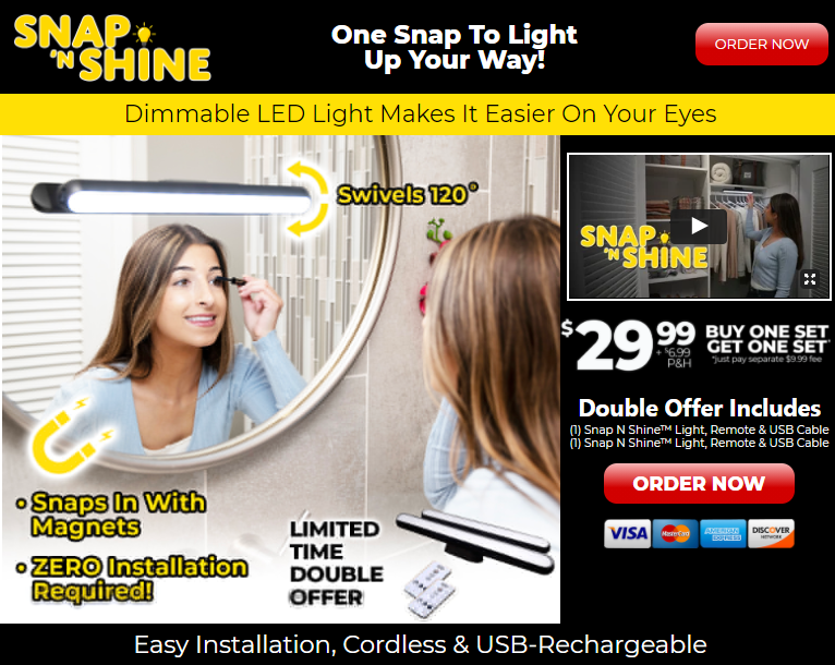 Snap N Shine Review | Does the SnapNShine.com Light Work?