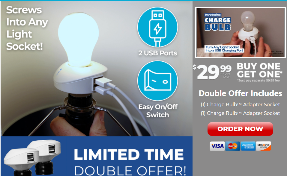 Charge Bulb Review